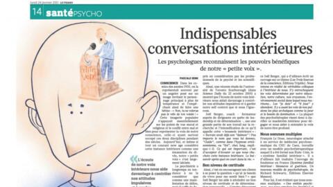 Indispensables conversations intérieures