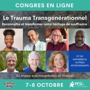 Congrès en ligne - Le trauma Transgénérationnel